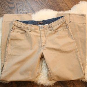 Columbia Rugged Khaki Jeans 34/32